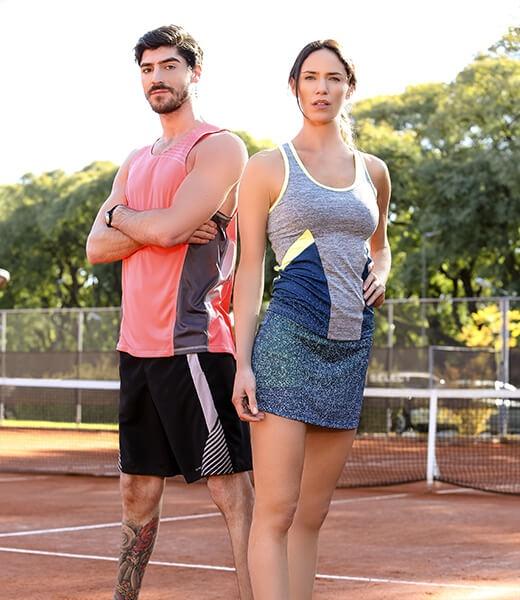 danseur indumentaria deportiva tenis hombre y mujer primavera verano 2017