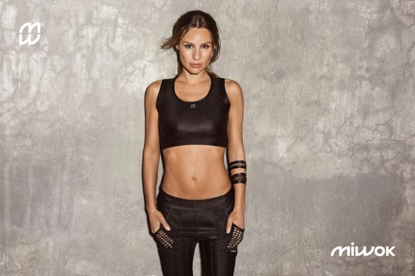 miwok indumentaria top y calza deportiva mujer verano 2017