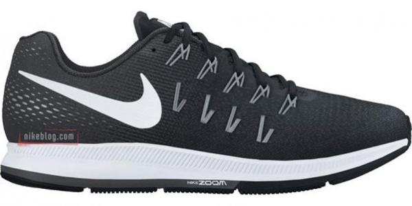 nike zapatillas deportivas negras air zoom pegasus 33 2017