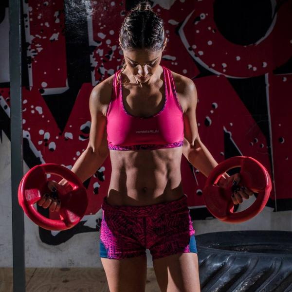 vandalia top deportivo gym mujer primavera verano 2017