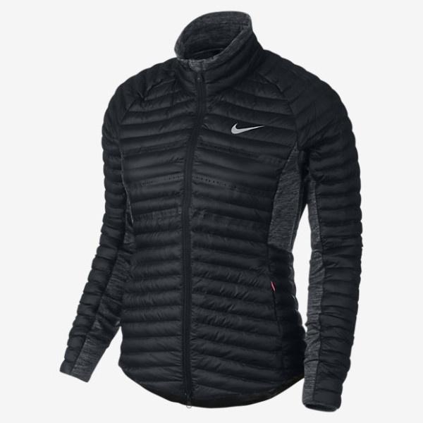 Nike - Campera negra Deportiva Mujer Invierno 2017
