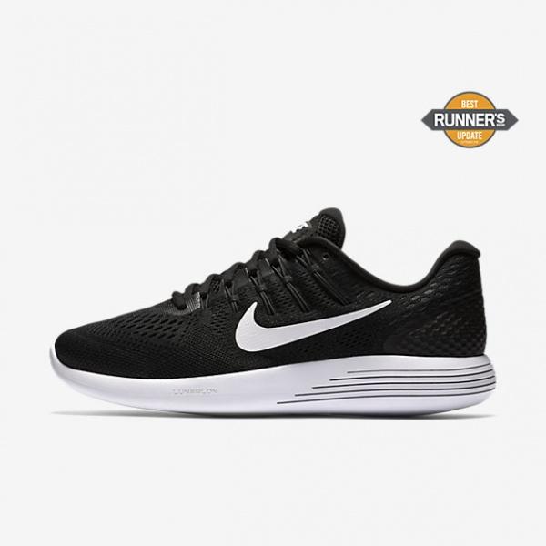 nike zapatillas negras para correr lunarglide 8 2017