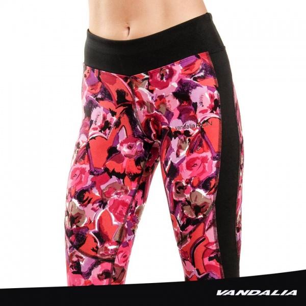 vandalia calza deportiva estampado floreado mujer verano 2017