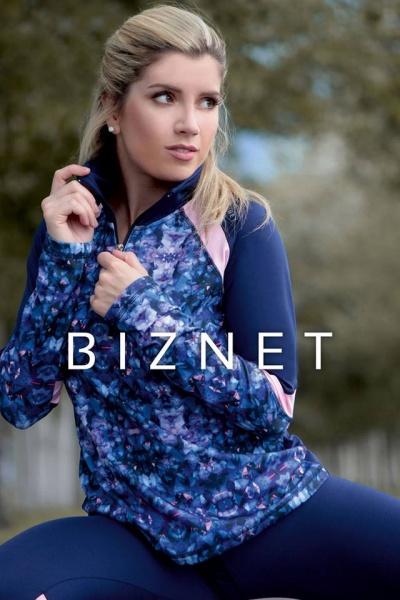 BIZNET - Buzo Deportivo estampado Mujer Otoño Invierno 2017
