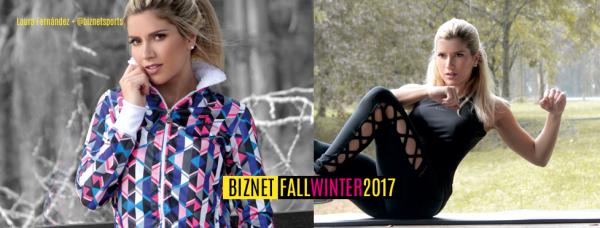 BIZNET - Catalogo Ropa Deportiva Mujer Otoño Invierno 2017