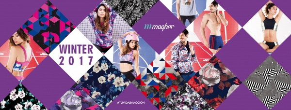 MAGHER - Ropa deportiva fitness Hombre y mujer Invierno 2017
