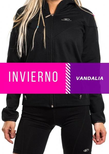Vandalia - Conjunto Deportivo negro Mujer Otoño Invierno 2017