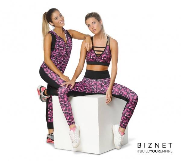 BIZNET - Calza estampada Deportiva Mujer Primavera Verano 2018
