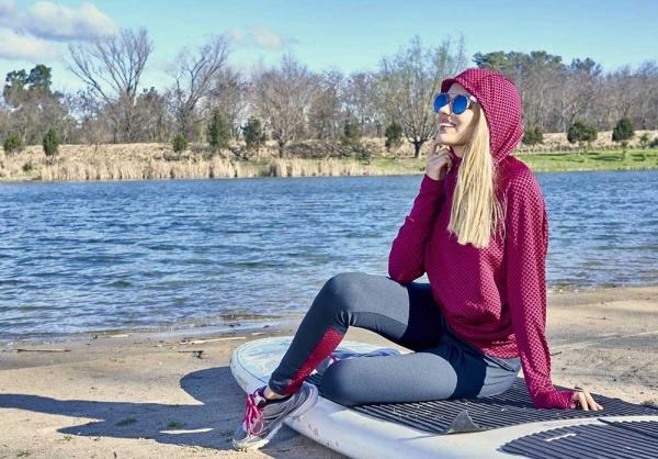 DGV - Conjunto campera con capucha Ropa Deportiva Mujer 2018