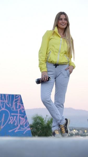 Marea - Pantalo y campera amarilla Deportiva Mujer Invierno 2018