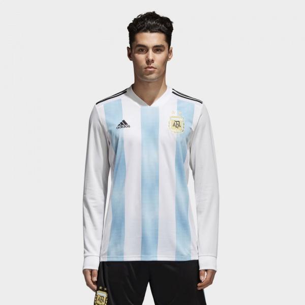 Adidas - Camiseta Manga larga Argentina Mundial Rusia 2018