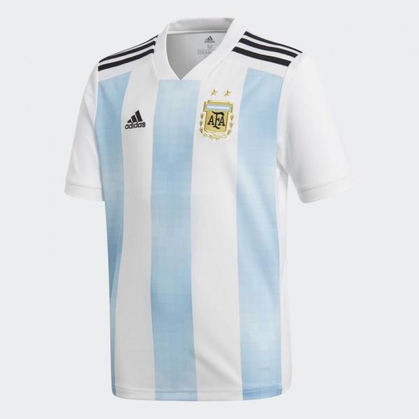 Adidas - Camiseta niño Argentina Mundial Rusia 2018