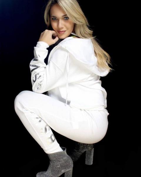 Body Sculpt - Conjunto deportivo blanco Mujer Invierno 2018