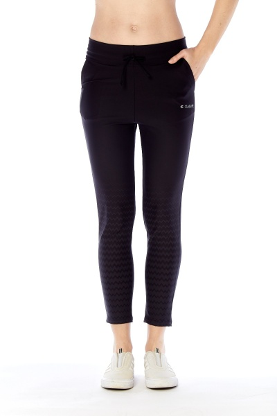 Class Life – Pantalon negro Deportivo Mujer Primavera Verano 2019