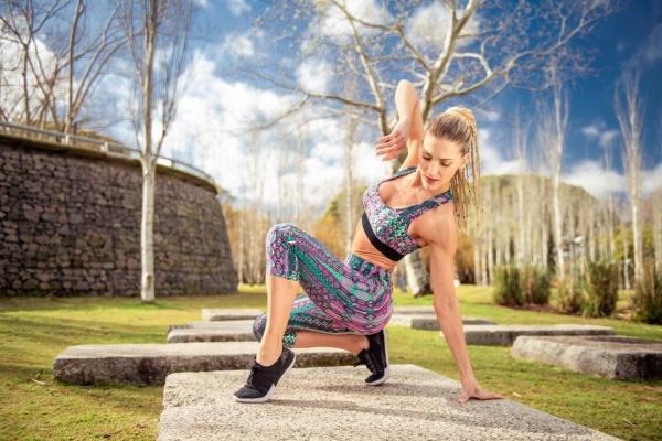 Dual Power - Top y calza estampada Mujer Primavera Verano 2019