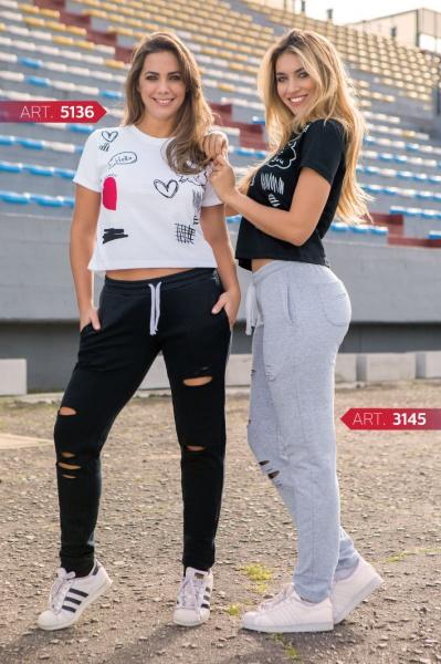 Shedyl - pantalon y remera Deportiva Primavera verano 2019