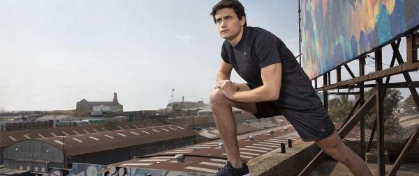 Fibra Humana - remera y short deportivo hombre primavera verano 2019