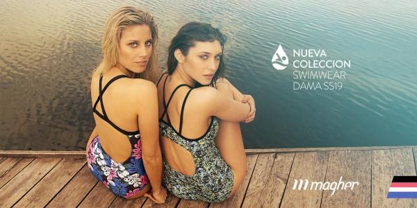 MAGHER –Trajes de baño deportivo Mujer Primavera Verano 2019