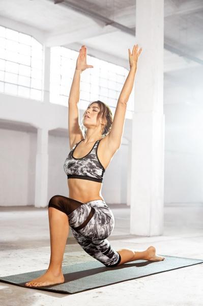 Sownne -Top y calza deportiva estampada Mujer Primavera Verano 2019