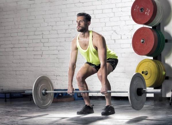 Aptitud - musculosa y short deportiva Hombre Primavera Verano 2019