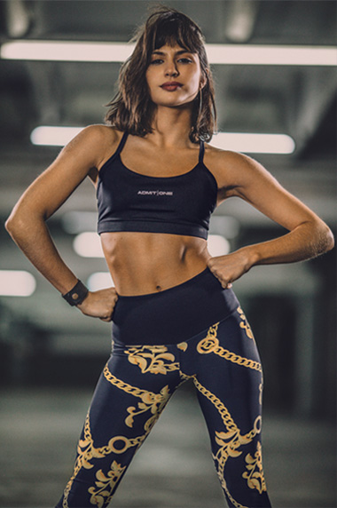 Admit One - Ropa Deportiva top y calza Mujer Otoño Invierno 2019